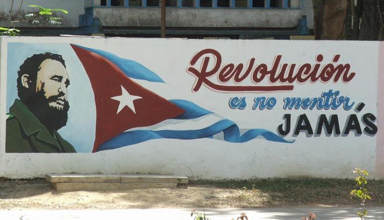 Revolución no es mentir jamás