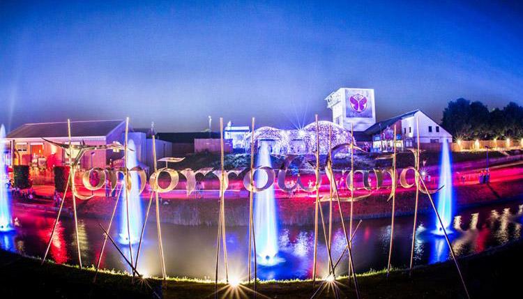 Tomorrowland sign